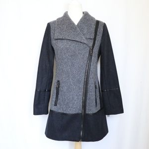 Guess Long Wool Blend Coat Small